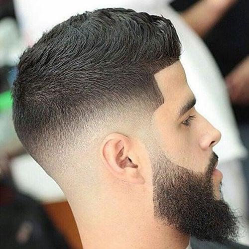 Kısa Saç + Uzun Sakal