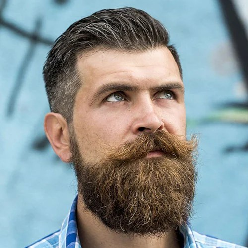 How To Straighten Your Beard Mens Hairstyles Haircuts