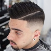 comb over fade haircuts