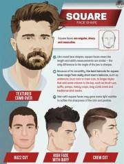 men's haircuts face