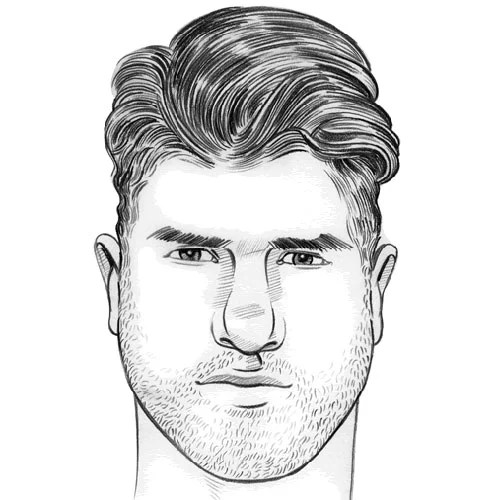 Best Men's Haircuts For Your Face Shape (2020 Illustrated