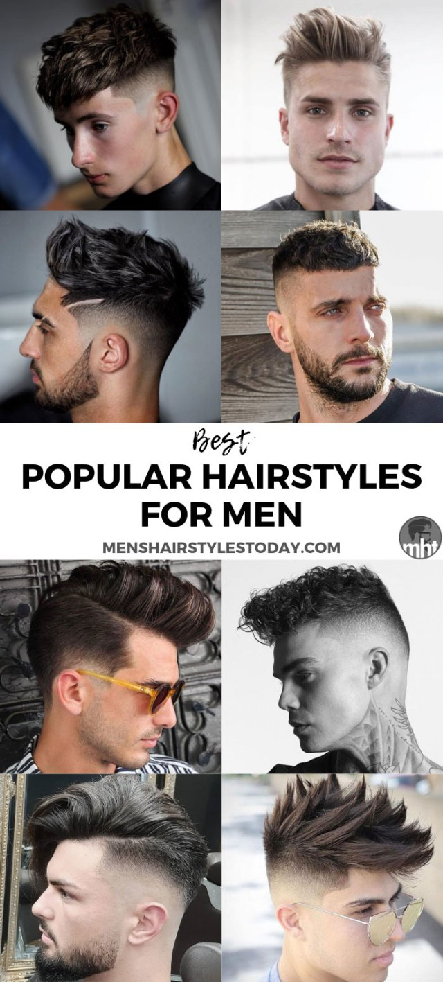 50 popular haircuts for men (2019 guide) | men's hairstyles