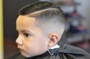 cut boys hair layered