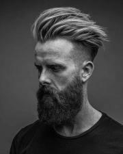 latest men's medium length hairstyle