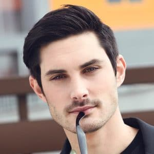 Straight Hair Hairstyles For Men