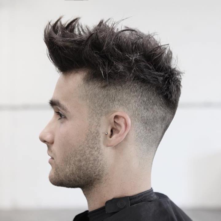 morrismotley_high fade and textureized hair on top
