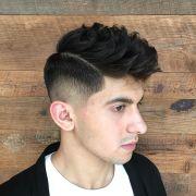 burst fade haircuts