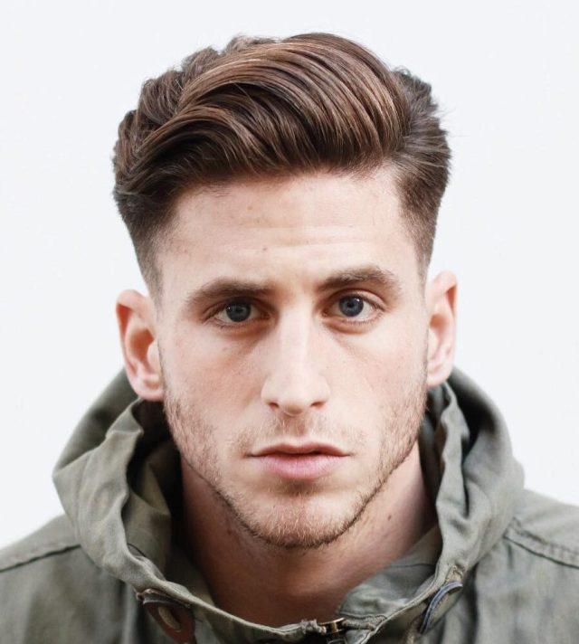 cool men's medium hairstyles + haircuts