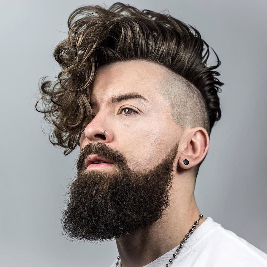 Curly Hairstyles For Men 2017
