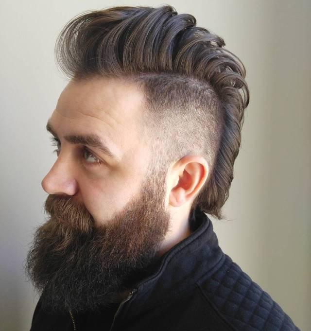 mohawk fade haircuts