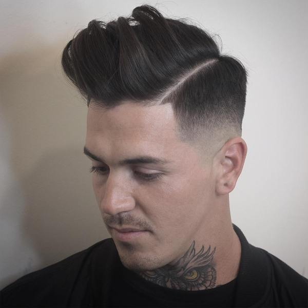 Fade With Part Haircut Imgurl
