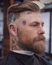 medium hairstyles men