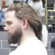 long hair ideas men ->