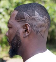 undercut diamond design