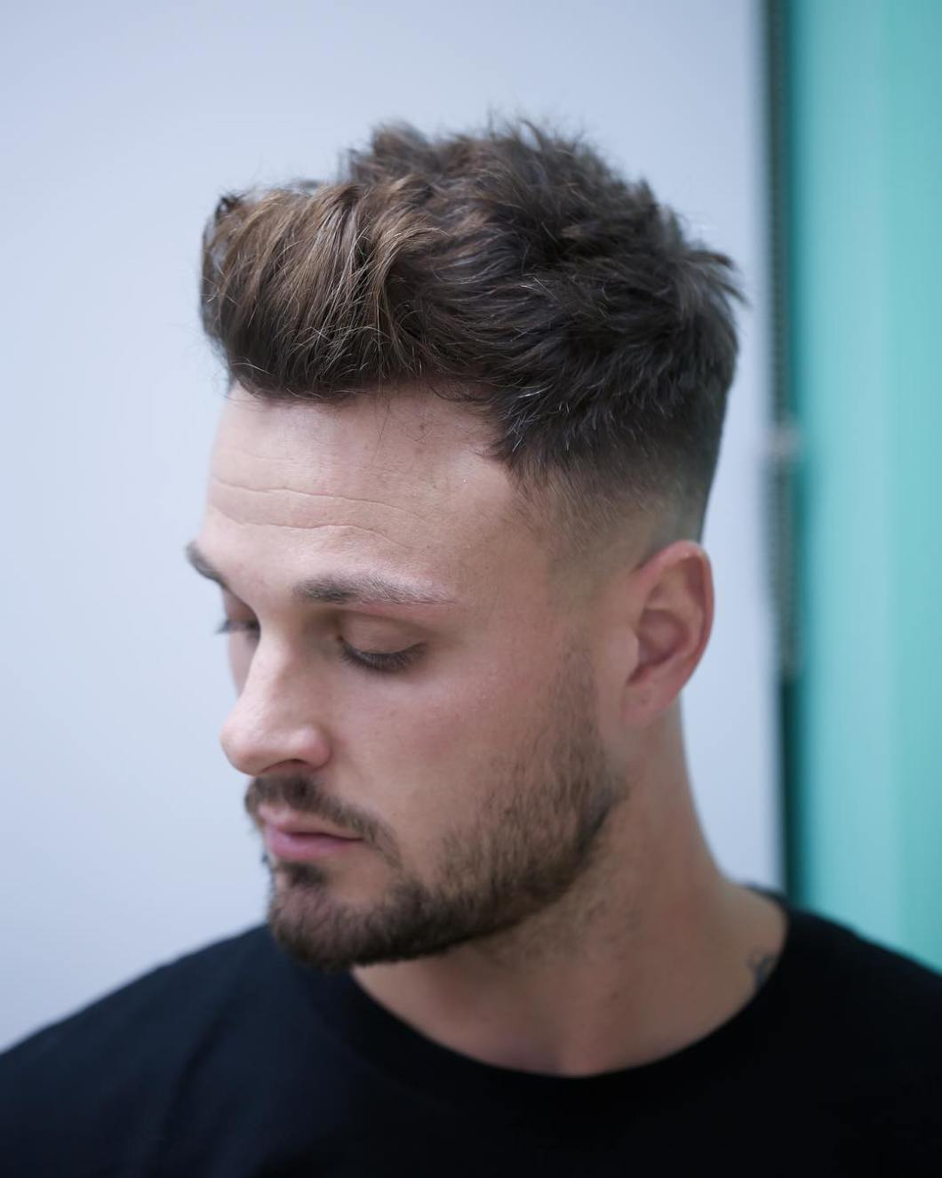 Textured Quiff Haircut Tutorial Amathair