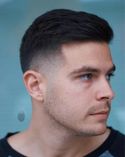 short hairstyles men 2018