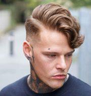 side part haircuts cool modern