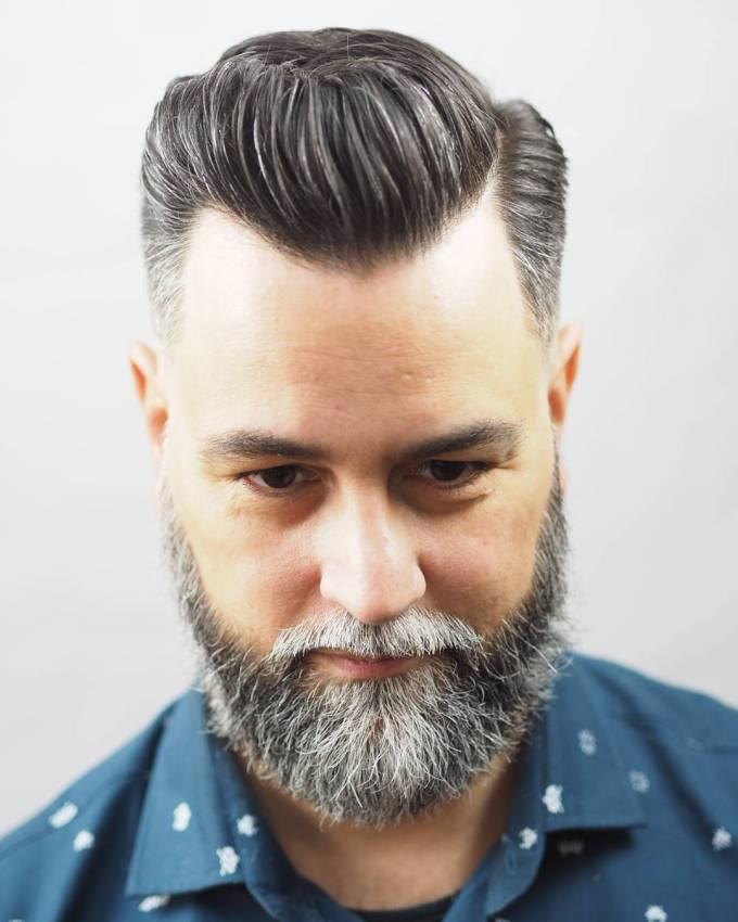21 side part haircuts (cool + modern)