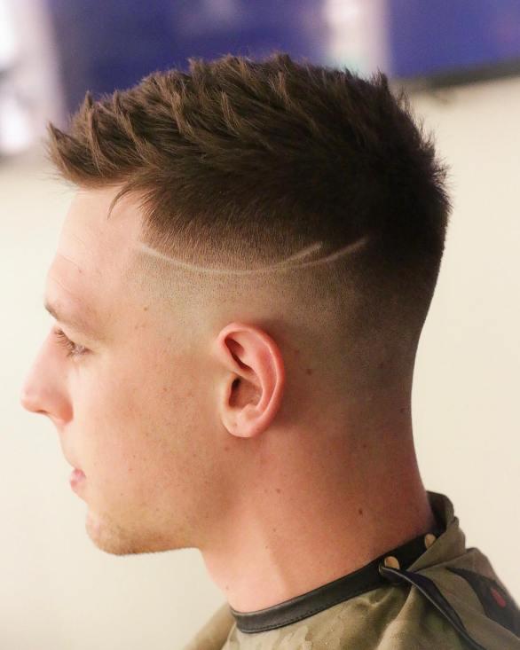 Men's Short Fade Haircut