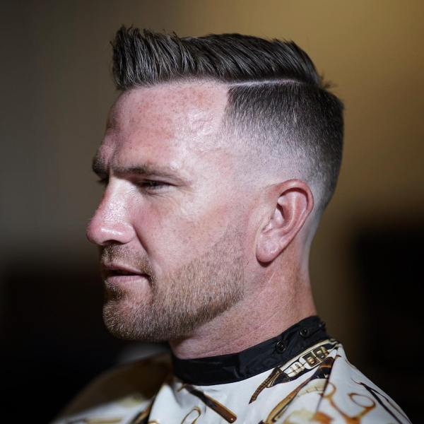 20 Mens Haircut Fade Side Part Pictures And Ideas On Weric