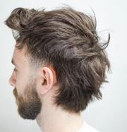 messy hairstyles men