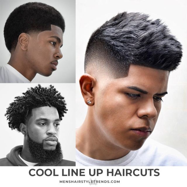 line up haircut: 8 styles that look super cool