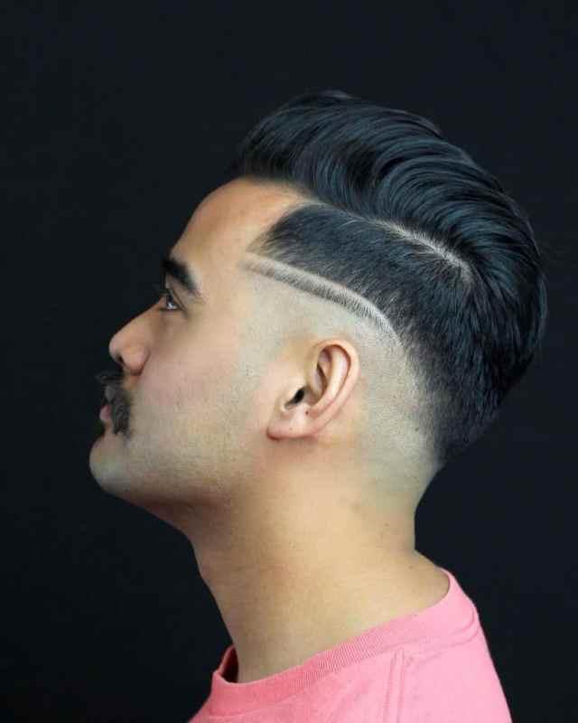haircut designs: lines