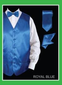 Sequin Vest/bow tie Combo Silver Grey