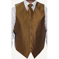 Vest/Tie/Bowtie Combos (Dark color black-Gold Combination)