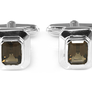 Mens Cufflinks - with gemstones