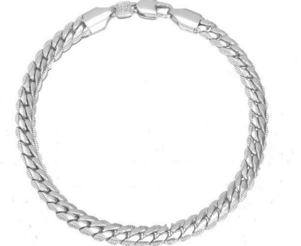 platinum-plated bracelet