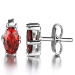 Garnet Earrings for women