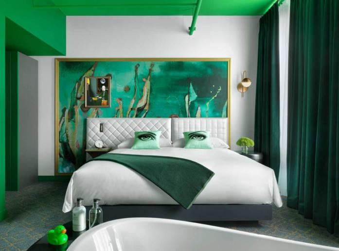 Angad Arts Hotel green room