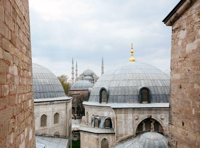 Domes of Hagia Sophia