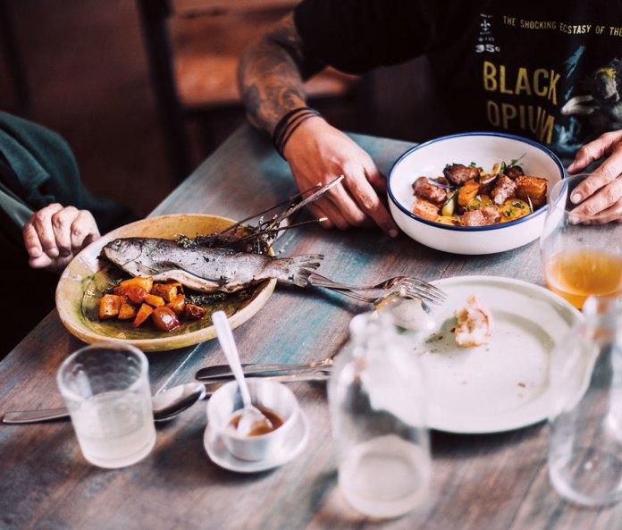 Lunch at Popular Cocina Bolivia
