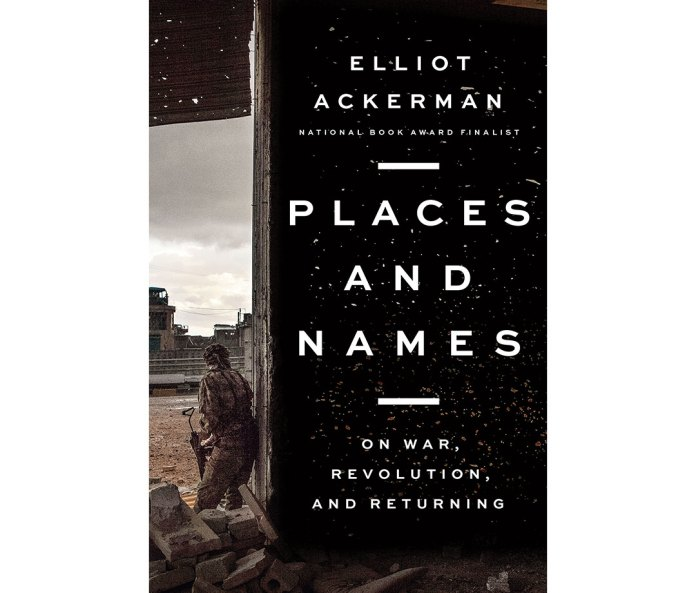 Memoir 'Places and Names'
