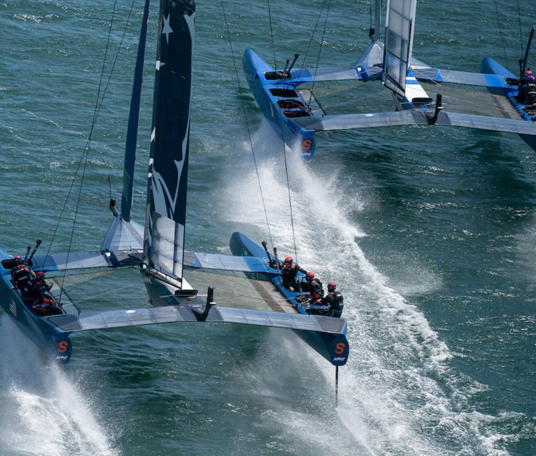 Young Guns and a Supercharged Catamaran: U.S. SailGP Team Takes on New York City
