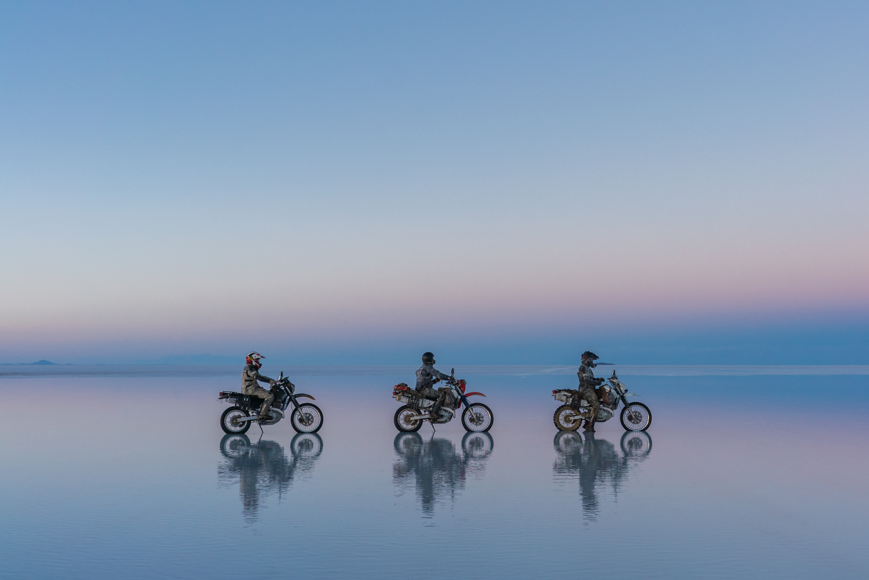 Riding Salt Flats