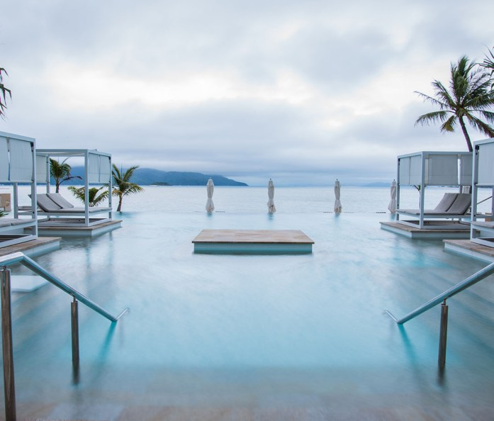 The infinity pool at Hayman Island's InterContinental