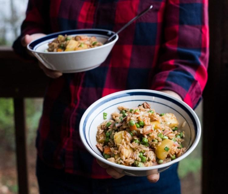 Sweet and Savory Fried Rice