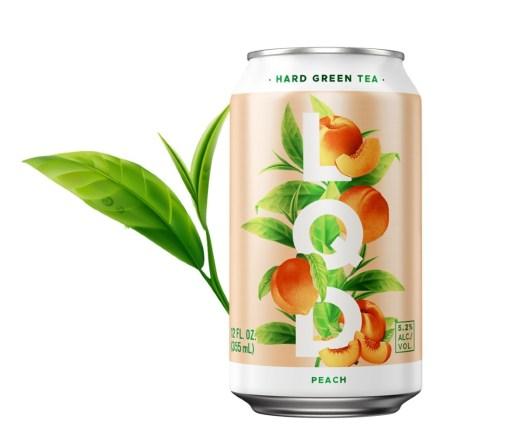 LQD Hard Peach Green Tea