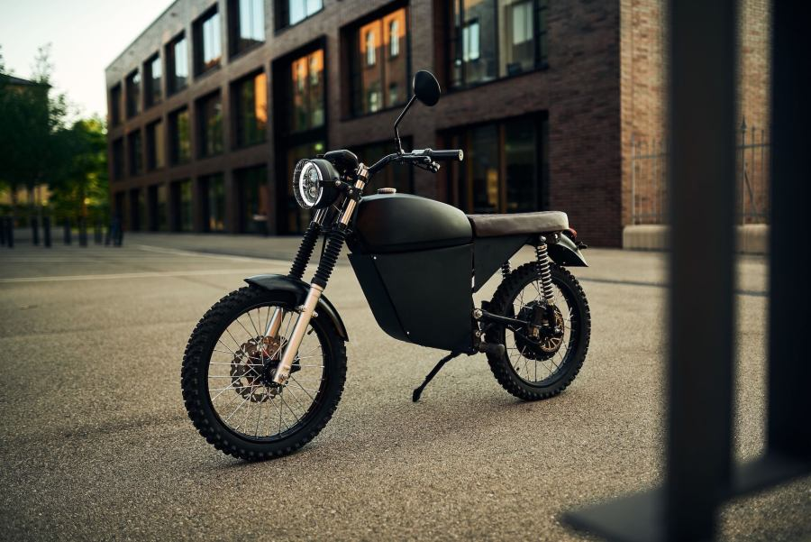 Black Tea Electric bikes motorcycles