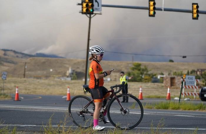 Boulder CO wildland fire