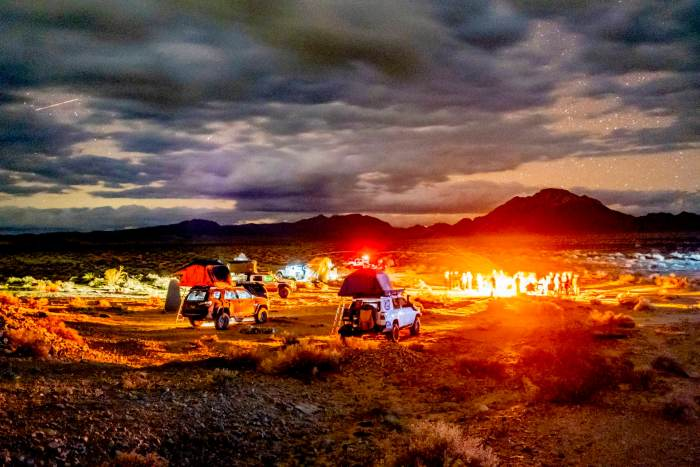 organizing in Mojave National Preserve