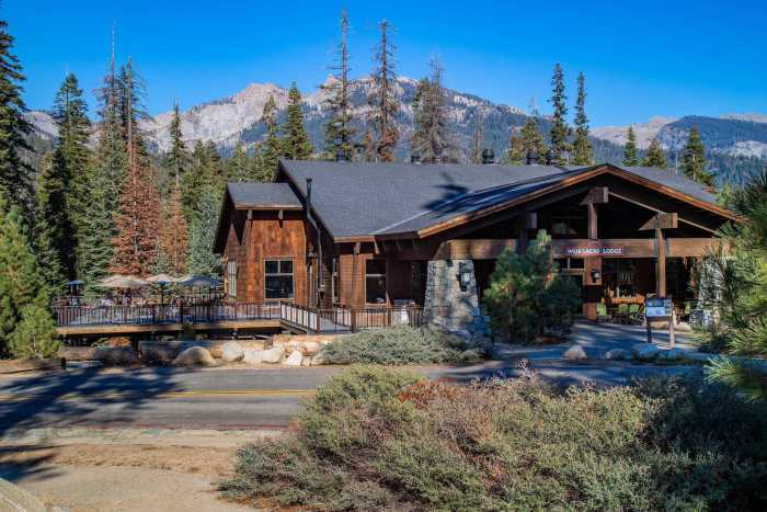 Wuksachi Lodge Sequoia