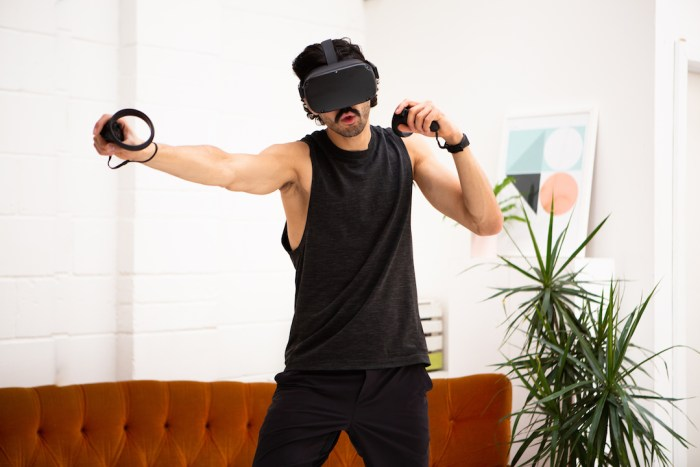 BoxVR fitness boxing game
