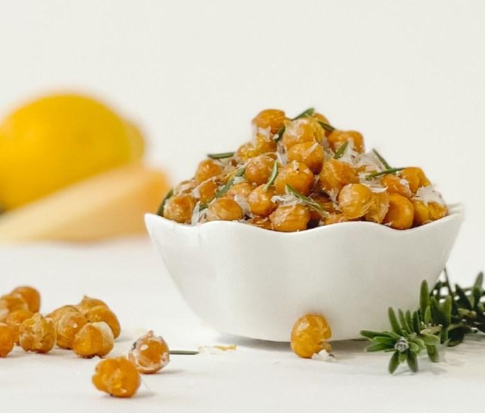 Rosemary Parmesan Chickpeas