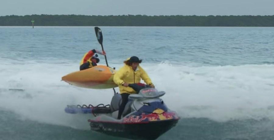 Jackson towed over wake