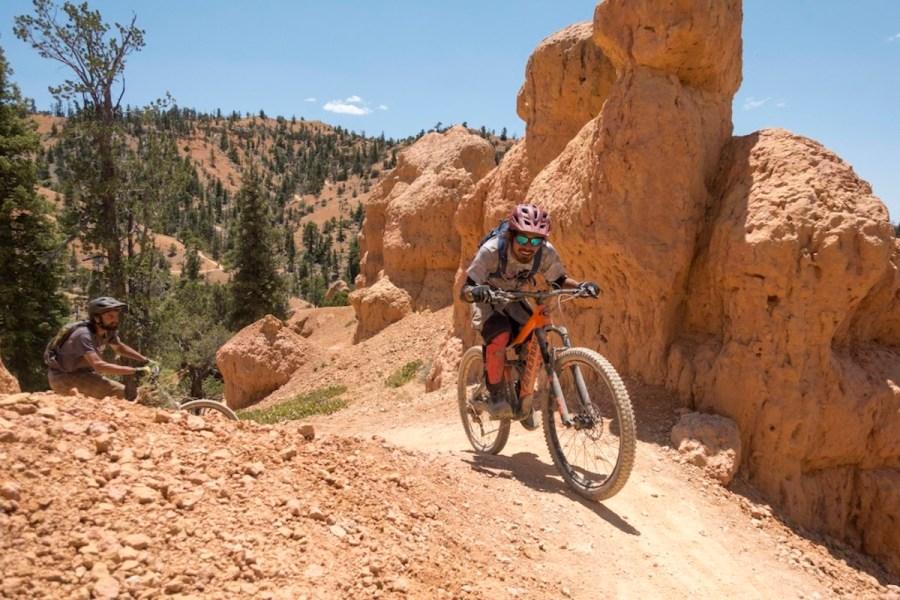 Aquarius Huts bike trail