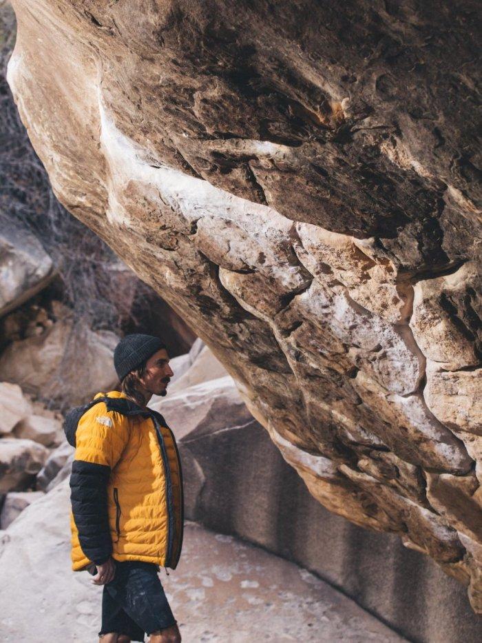 Daniel Woods at Return of the Sleepwalker in Nevada